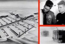 Den danske spejder Søren Gregersen vandt et ophold på den amerikanske base Camp Century i Grønland. Fotos fra film af Army Pictorial Center præsenteret af United States of America War Office - United States.