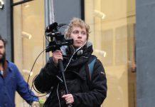 Vores gamle Danmark er drevet af journalist Søren Kjær. Her fanget på en ikke-relateret opgave i 2015. Foto: Privat