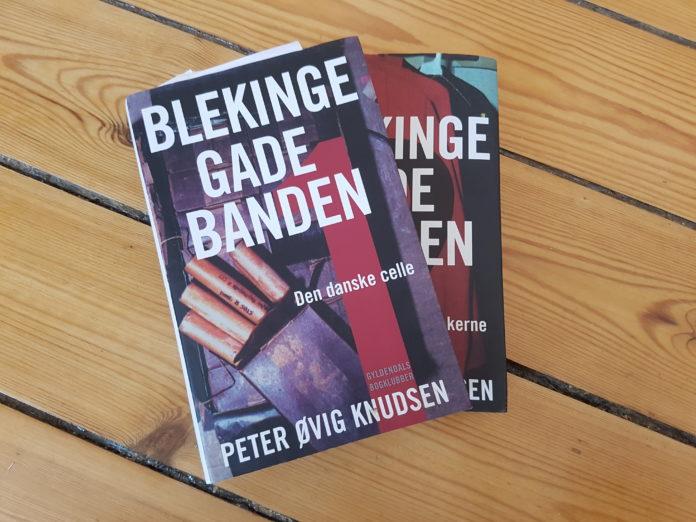 Bind 1 og 2 af Blekingegadebanden af Peter Øvig Knudsen. Foto: Søren Kjær