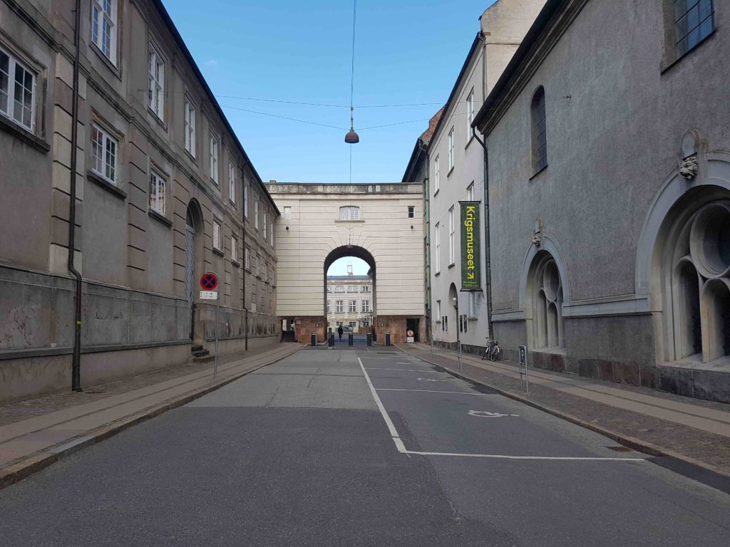 Krigsmuseet ligger lige ved Christiansborg og er et meget spændende museum i København. Foto: Søren Kjær