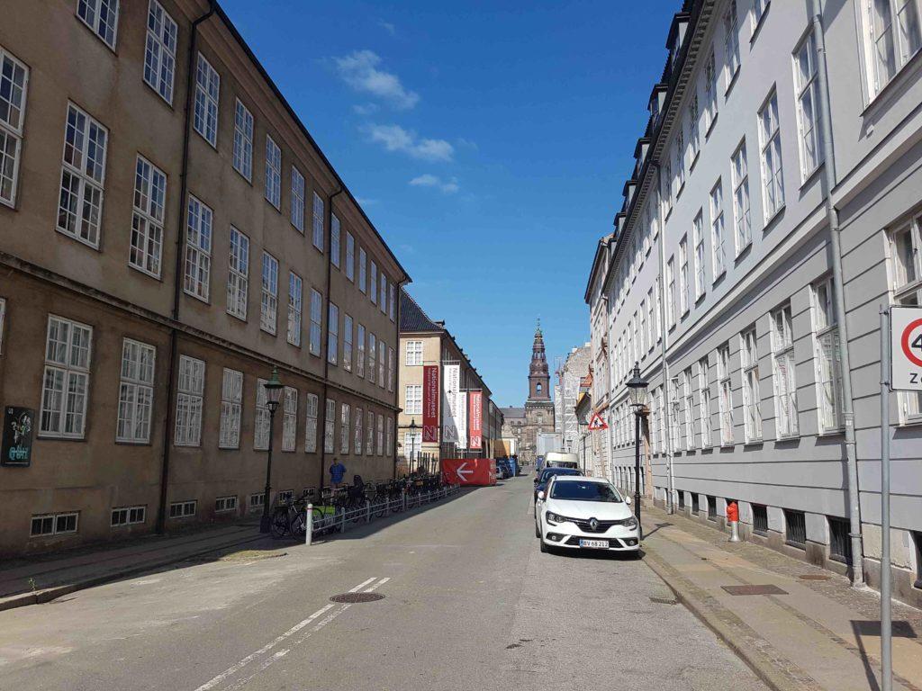 Nationalmuseet i København ligger tæt på Christiansborg i Indre By. Foto: Søren Kjær